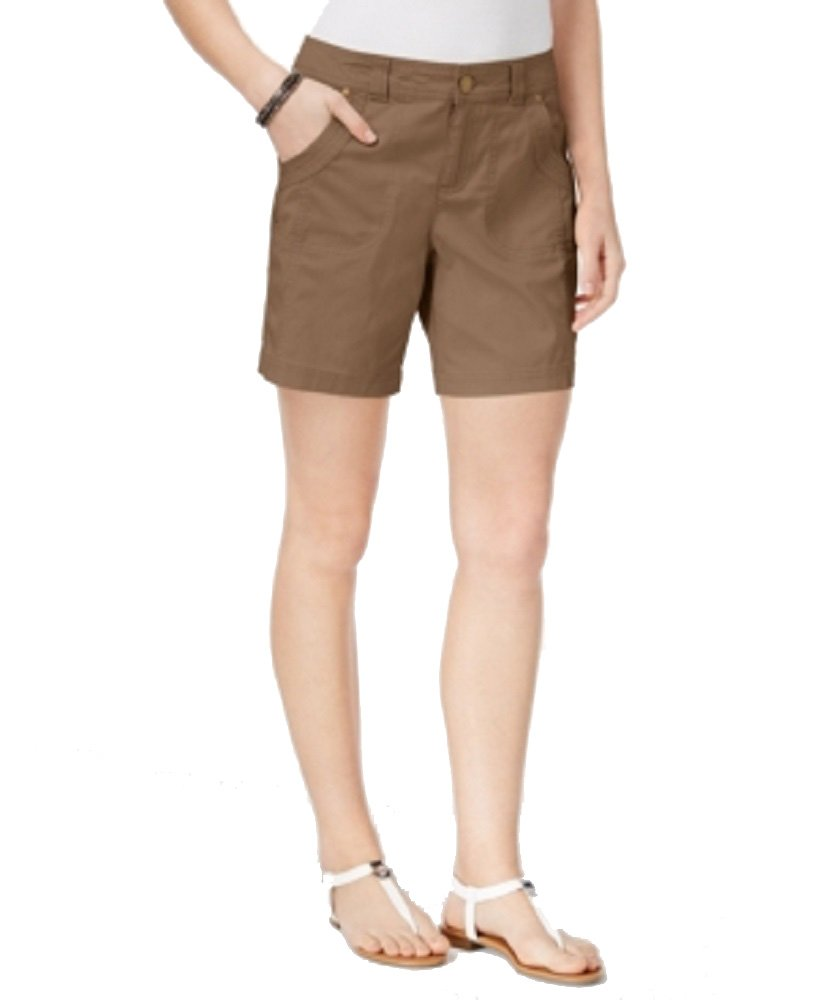 Style & Co. Slim-Fit Shorts (Brown Clay, 18)