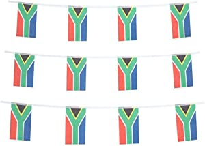 South Africa Flags South African Small String Mini Flag Pennant Banner Decorations