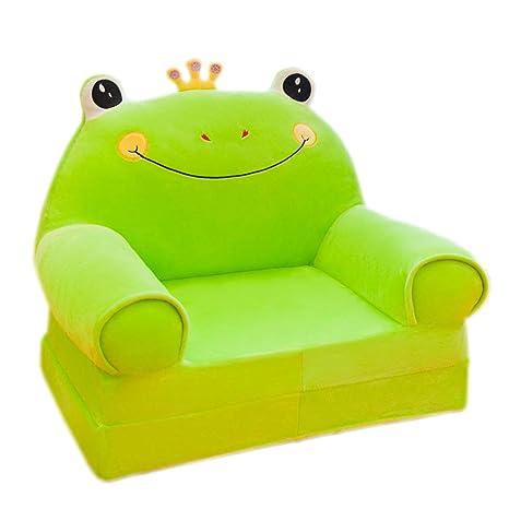 FXL Pequeño sofá de los niños de Dibujos Animados Plegable ...