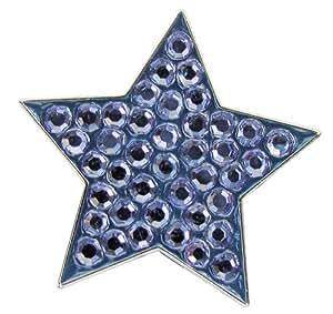 Navika Star Swarovski Crystal Ball Marker with Hat Clip (Blue)