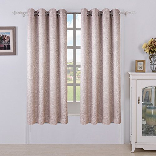 From USA MEROUS Linen Window 2 Panels Treatment Thermal