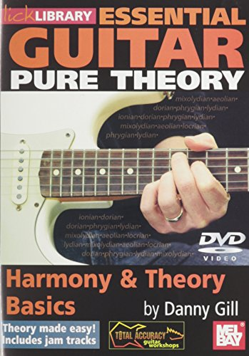 Essential Guitar Pure Theory Harmony & Theory Basics DVD Dvd Guitar Lick Library