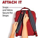 Fjallraven - Kanken Shoulder Pads for Backpacks, Ox Red