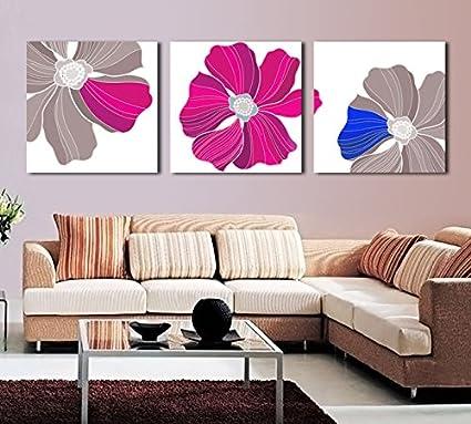 Dipinti decorano il soggiorno moderno minimalista incontenibile ...