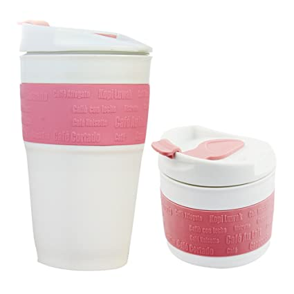 6fe8692f8089 FAN Silicone Collapsible Travel Mug - Reusable Travel Foldable Cup - Leak  Proof Locked