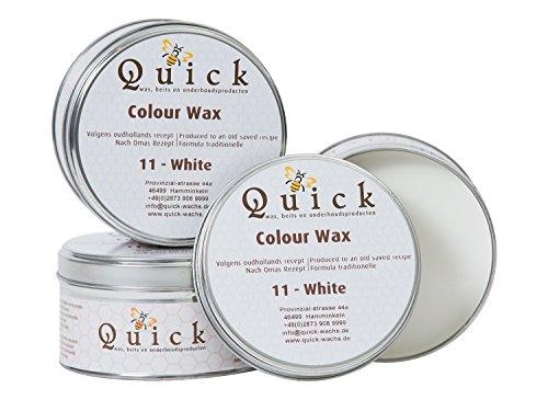 Quick Möbel Wachs **ALLE FARBEN** Antikwachs Furniture Wax Möbelpflege Politur (Weiß oder White)