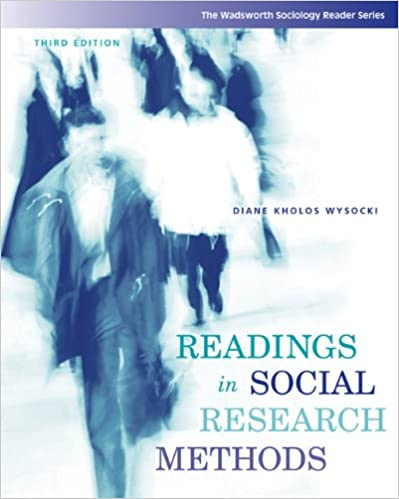 Readings In Social Research Methods Wadsworth
