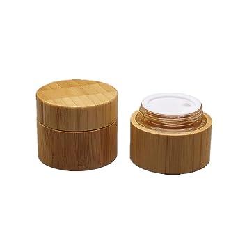 Amazon.com: Pinklife - Juego de 2 tarros de madera para ...
