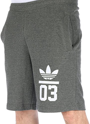 Adidas Pantalones cortos deportivos 3foil Shorts Grey Xl