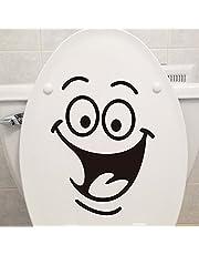 ملصقات حائط ديكورية للمنزل مبتكرة سهلة التثبيت بتصميم وجه مبتسم