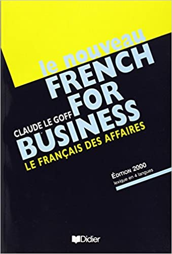 Amazon le nouveau french for business textbook french edition le nouveau french for business textbook french edition french 0th edition fandeluxe Images
