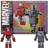 Marvel Minimates Classic Iron Man and Silver Centurion