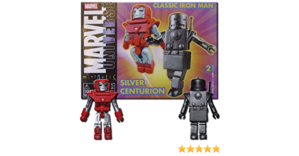 Marvel Minimates SDCC Exclusive Silver Centurion
