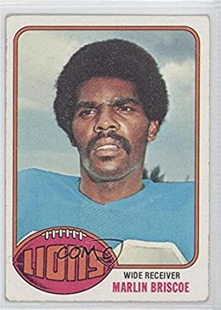 Art Amazon Comc Good Topps 1976 484 To Collectibles Vg-ex Briscoe amp; Fine football Marlin Card Reviewed com