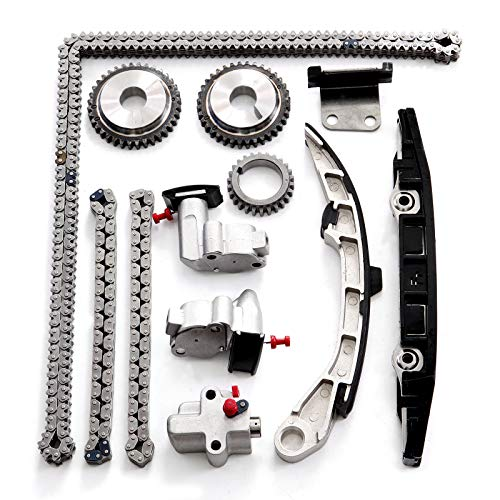 INEEDUP Timing Chain Kits Fit for 2010 2011 2012 Nissan Murano 3.5L 3498CC 213Cu. in. V6 Gas DOHC Naturally Aspirated