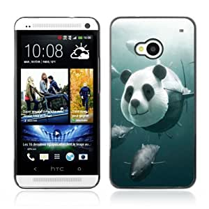 Designer Depo Hard Protection Case for HTC One M7 / Panda Tuna