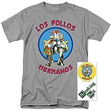 Breaking Bad Los Pollos T Shirt & Exclusive Stickers