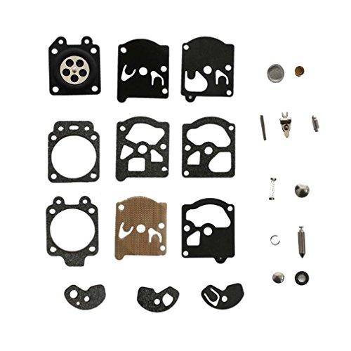 AISEN Carburetor Repair Rebuild Kit for STIHL MS192T MS192C 020 MS200 MS200T 020T 020AV Chainsaw # C1Q-S32 C1Q-S61 C1Q-S103 C1Q-S104 C1Q-S124 (Stihl Ms200 Carburetor compare prices)