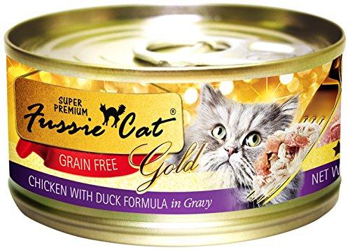 Fussie Cat Super Premium Chicken with Duck Formula in Gravy