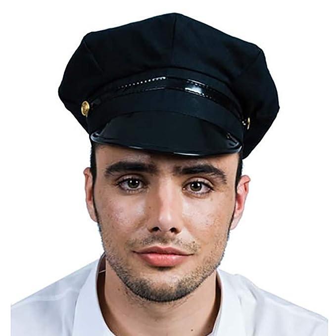 EUROCARNAVALES Gorra de Policía Local: Amazon.es: Juguetes y juegos