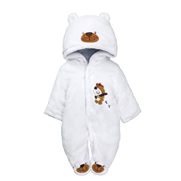 a268b380e Amazon.com   Winter Outfits Newborn Infant Baby Boys Girls ...