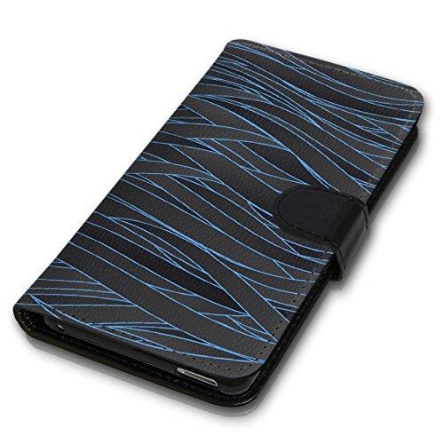 Wallet Book Style Flip Handy Tasche Case Schutz Hülle Schale Motiv Etui für Apple iPhone 4 / 4S - Design Flip MVD238