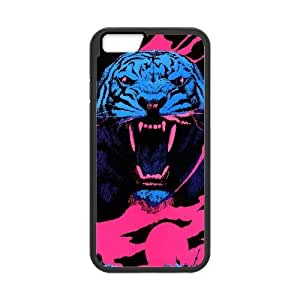 Tiger Roar War Battle Field iPhone 6 Fashion Cool Case Black