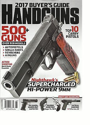 HANDGUNS MAGAZINE, 2017 BUYER'S GUIDE 500 + GUNS OVER 900 MODELS # 188