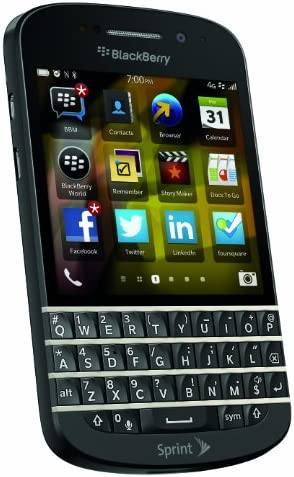 Blackberry Q10 Black 16gb Sprint