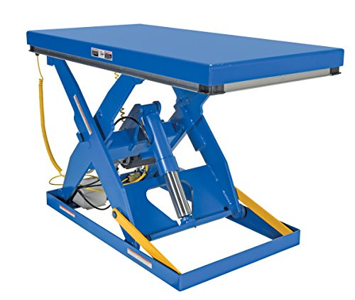 Vestil EHLT-3060-3-43 Electric Hydraulic Scissor Lift Table, 3,000 lb. Capacity, 60-3/8