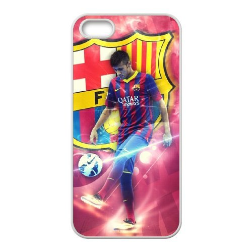 Neymar Phone Case And One Free Tempered-Glass Screen Protector For iPhone 5,5S T268117