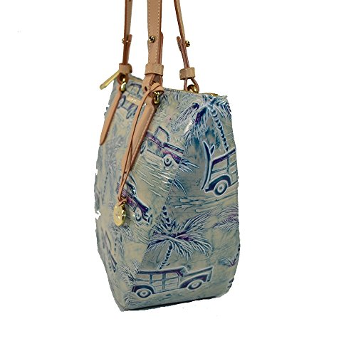 Copa Blue Sky Shoulder Bag Cabana Cars Small Brahmin Willa qwCEHnp