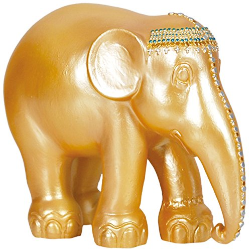 Westland Giftware Elephant Parade Resin Figurine in Tin Window Box, Jasmine, 4-Inch
