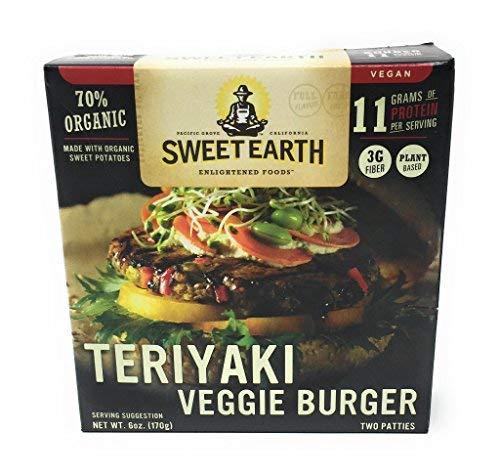 SWEET EARTH BURGER VEGGIE TERIYAKI 6OZ