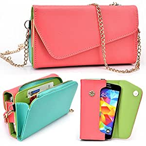 Samsung Continuum Two Tone Clutch with Shoulder Strap - More Colors Available!