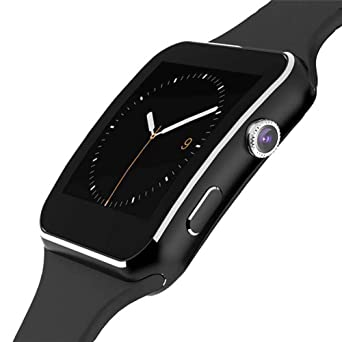 Relojes Inteligentes X6 Inteligente Reloj Hombres con Cámara Toque ...