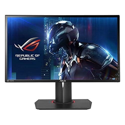 chollos oferta descuentos barato ASUS ROG Swift PG248Q Monitor Gaming de 24 144 Hz nativos WLED TN resolución FHD 1920 x 1080 16 9 Brillo 350 CD m2 Contraste 1 000 1 Respuesta 1 ms GTG G Sync