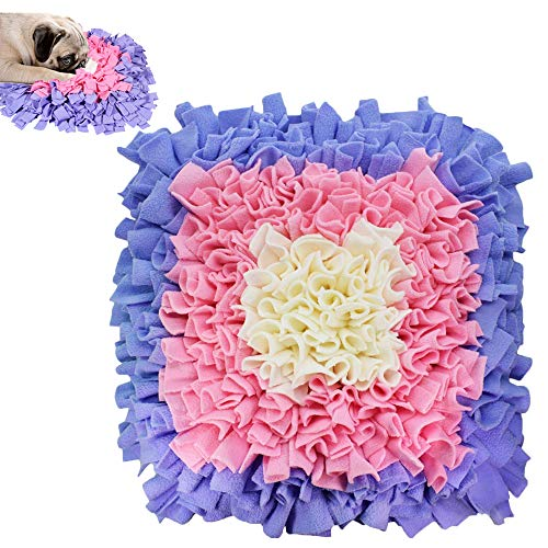 Ali Snuffle Mat for Dogs, Dog Feeding Mat, Dog Puzzle Toys, for Encourgaing Natural Foraging Skills for Cats Dogs…