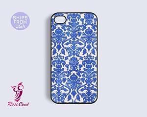 Damask Iphone 4 case, iphone 4s case - Designer pattern Iphone Cases, Cute Co...
