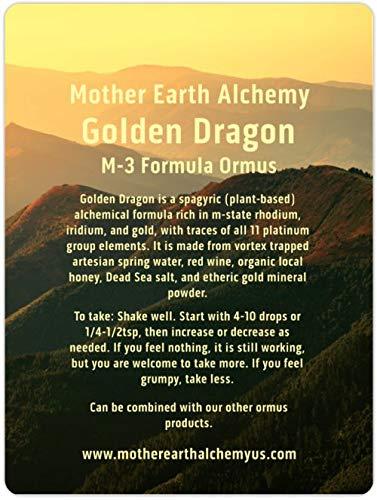 Golden Dragon Monatomic M-3 Monatomic Gold, Irridium, Rhodium: the Vegetable Stone of Honey and Red Wine
