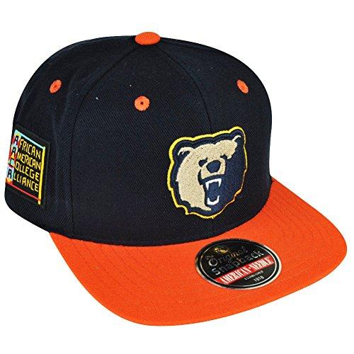 Morgan Mens Hat - Morgan State University Bears Snapback Blockhead Baseball Cap (HBCU)