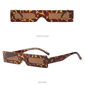 Yesmile Gafas de sol☀️Vintage Gafas de Sol Rectangulares Retro Gafas Pequeño Marco de Moda para Mujer Hombre (140mm, A): Amazon.es: Instrumentos musicales