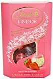 strawberry cream chocolate - Lindt Lindor Strawberries & Cream 200g