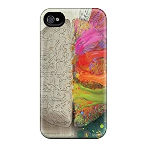 EuiUUQz4940jyIRQ Snap On Case Cover Skin For Iphone 4/4s(brain Code Imagination)
