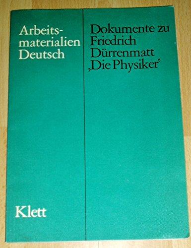 Dokumente zu Friedrich Durrenmatt,