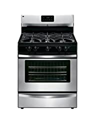 Kenmore 73433 4.2 cu. ft. Freestanding Gas Range in Stainless...
