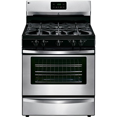 Kenmore 73433 4.2 cu. ft. Freestanding Gas Range in Stainless Steel, includes delivery and hookup Freestanding Slide In Range