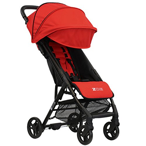 ZOE XLC Best Lightweight Travel & Everyday Umbrella Stroller System (Red)