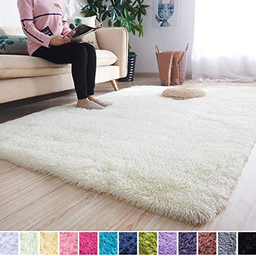 picture of Noahas Super Soft Modern Shag Area Rugs Fluffy Living Room