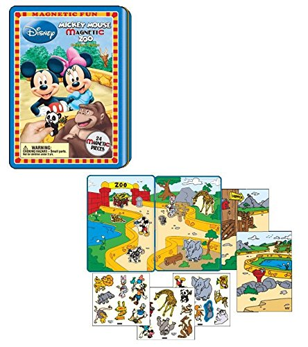 MAGNETIC FUN - MICKEY MOUSE MAGNETIC ZOO by Disney